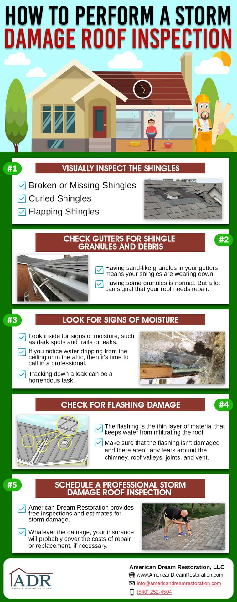 Check Out Our Storm Damage Checklist Infographic!