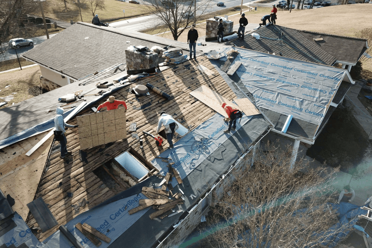 Adr Roof Install American Dream Restoration Llc